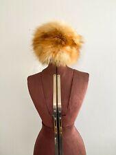 1960s Vintage Fox Fur Hat