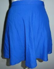 """LADIES GORGEOUS BLUE HOLLISTER SKATER/TULIP SKIRT NEW WITH TAGS SIZE S WAIST 28"""""""