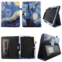 Starry Paint Fit for Samsung Galaxy Tab 4 10.1 10 inch Tablet Case Cover ID Slot