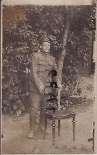 WW1 Private KRRC Kings Royal Rifle Corps in France Dated 1916