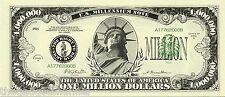 10 MILLION DOLLAR BILLS NOTES REPLICA UNUSUAL BOYS MENS JOKE NOVELTY PRESENT