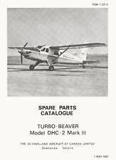 DE HAVILLAND CANADA DHC-2 Mk.III TURBO BEAVER / PARTS