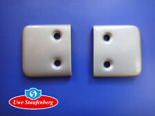 Halteplatte (Paar) für Türfangband Goggomobil Goggo