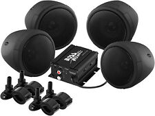 Boss Audio MCBK470B Motorcycle ATV Bluetooth Amp & Speakers 1000 watt Stereo