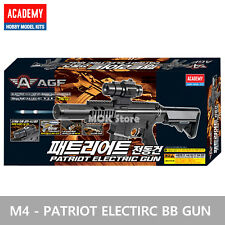 ACADEMY #17408 M4 Patriot Electric BB Gun 6mm / Double Hop Up, Running Shot