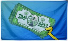 Simp Bucks Flag 3x5ft Banner Tapestry