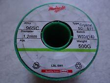 Multicore Solder Wire 96SC 95.5%Tin,3.8% Silver,0.7Copper(Audiophile) Lead Free!