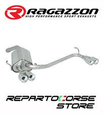 RAGAZZON SCARICO TERM.TONDI SDOPPIATO 2x80 SFALSATI ALFA GT 1.9JTDm 110kW 150CV