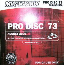 Mastermix DJ only PRO DISC 73 Aug 2006 1 x CDs