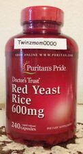Red Yeast Rice 600mg 240 Rapid Release Capsules