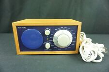 Tivoli Model One, Am-Fm Radio Designed by Henry Kloss Cobalt And Wood