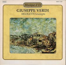 CD SINGLE 11 TITRES CLASSIQUE--GIUSEPPE VERDI--RIGOLETTO EXCERPTS--1993
