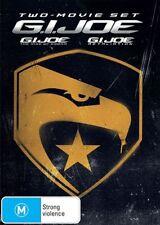 G.I. Joe - The Rise of Cobra / G.I. Joe - Retaliation (DVD, 2013, 2-Disc Set) R4