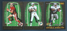 1996 PINNACLE EMMITT SMITH / YOUNG DOUBLE DISGUISE INSERT CARD #19