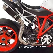 SILENCIEUX BODIS GP1-RS INOX NOIR KTM 1290 SUPERDUKE 2014/15/16