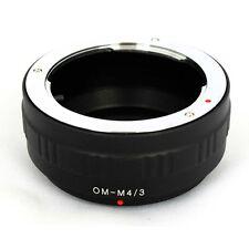 Anello adattatore ottiche Olympus OM su Micro 4:3