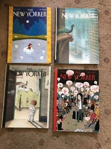 2007 New Yorker Magazine Various Issues Classic Covers