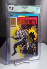 "Eternal Warrior #1 Gold Embossed Variant Cover CGC 9.8 WP SIGNED Jim ""Shooter"""