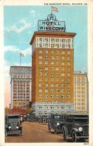 Winecoff Hotel Atlanta Georgia