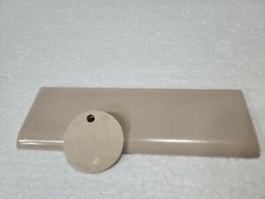 Tan Beige Ceramic Bullnose Tile 6 x 2 in Wenczel Tawny Beige Color 078 Sandstone