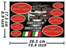 Moto Guzzi Decals Stickers Motorcycle Graphics Kit Autocollant Aufkleber Adesivi