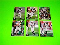 6 OTTAWA REDBLACKS UPPER DECK CFL FOOTBALL CARDS 55 57 58 60 61 63 72 #-2