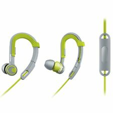 Philips SHQ3305LF/27 ActionFit Sports Headphones w/Mic - Lime