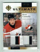 11-12 UD Upper Deck Ultimate Patches  Brett Connolly  /35  Dual Patches