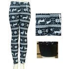 New Winter Aztec Tribal Print High Waist Soft Knitted Leggings Pants SML