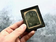 Antique c1860s Ambrotype Portrait - American Civil War?