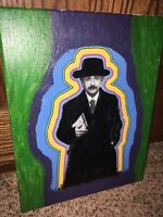 Modern Albert Einstein Painting Photography Mixed Media Home Decor One Of A Kind