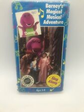 Barney's Magical Musical Adventure Sing Along - VHS