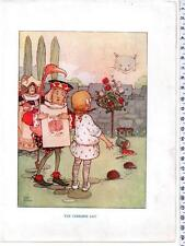 """Mabel Lucie Attwell Antique Book Illustration """" The Cheshire Cat """""""
