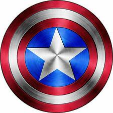 Captain America Shield Logo Comic Superhero Vinyl Decal Sticker Made In Usa