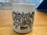 Federal Express Join The Crowd Vintage Coffee Mug Cup