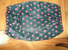 DOG SNOOD EAR PROTECTOR  IN SPOT WATER REPELLENT FABRIC