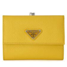 Prada Triangolo Saffiano Leather Wallet - Sole
