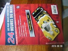 1µ? Fascicule seul Voitures des 24 Heures du Mans n°7 Porsche 956C Jo Siffert