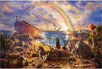 "Jigsaw Puzzles 1000 Pieces ""Noah's ark"" / Thomas Kinkade"