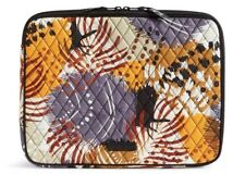 """Vera Bradley Painted Feathers Padded Laptop Sleeve Fits 13"""" Mac & Dell NWT!"""