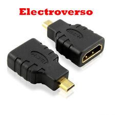 Convertidor Micro HDMI tipo D a HDMI Hembra