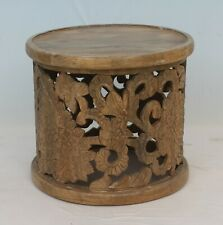 Indian Handmade Wooden Carving Center Coffee Table
