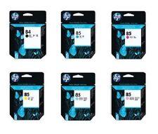 6 X ORIGINALE HP DesignJet 30 90 130 130 NR/inchiostro 85 + 84/c5016a c9425a-c9429a