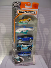 2018 Matchbox ICE VOYAGERS 5-PACK☆RANGE ROVER☆SEA HUNTER☆SNOW RIPPER☆GHE-O