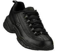 Skechers 76033 Para Mujer Zapatos Trabajo Suave Stride-Softie Antideslizante Negro