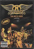 AEROSMITH - You Gotta Move -Live!- - DVD - SONY BMG - 202693 7 - 2004 - Europe