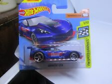 HOT WHEELS 2018 152/365 CORVETTE C7R NEW ON CARD Speed Graphics