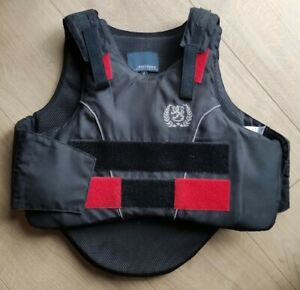 Justtogs Horse Riding Body Protector - Size Medium Child