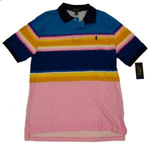 Ralph Lauren Boys Polo Cotton Shirt - Blue Wave Size XL (18/20) - New w/Tags