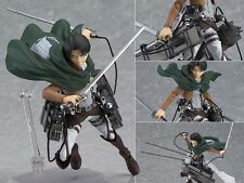 Anime Figure Toy Attack on Titan Levi Figma Figurine 10cm